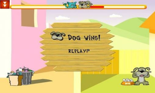 Screenshots of the Cat vs dog deluxe for Android tablet, phone.