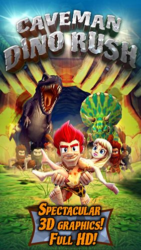 Download Caveman dino rush Android free game. Get full version of Android apk app Caveman dino rush for tablet and phone.