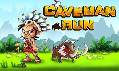Screenshots of the Caveman Run for Android tablet, phone.
