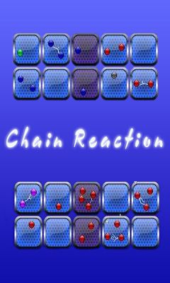 Screenshots of the Chain Reaction for Android tablet, phone.