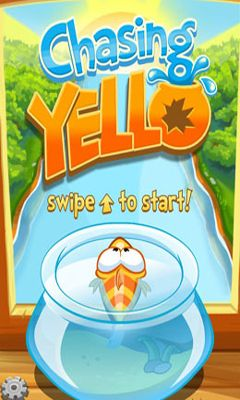 Screenshots of the Chasing Yello for Android tablet, phone.
