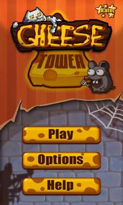 Screenshots of the Cheese Tower for Android tablet, phone.