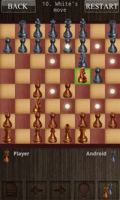 Screenshots of the Chess Chess for Android tablet, phone.