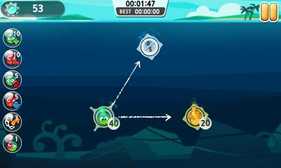 Screenshots of the Chlory:  The Ocean Guard for Android tablet, phone.