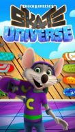 In addition to the game  for Android phones and tablets, you can also download Chuck E.Cheese's: Skate universe for free.