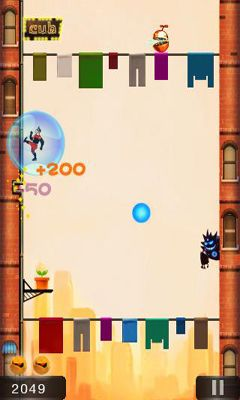 Screenshots of the City Jump for Android tablet, phone.