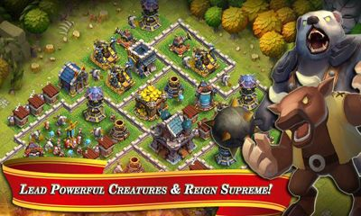 Screenshots of the Clash of Lords for Android tablet, phone.