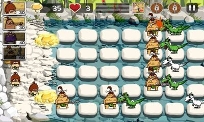 Screenshots of the Cocopocus Dinosaur vs Caveman for Android tablet ...