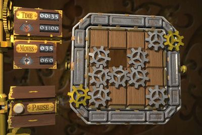 Cogs - Android game screenshots. Gameplay Cogs.