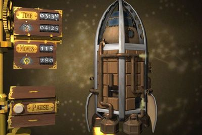 Screenshots of the Cogs for Android tablet, phone.
