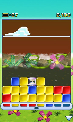 Screenshots of the Collapse! for Android tablet, phone.