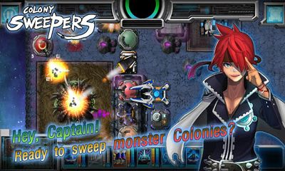 Screenshots of the Colony Sweepers for Android tablet, phone.