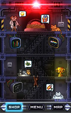 Screenshots of the Combat cats for Android tablet, phone.