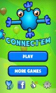 In addition to the game  for Android phones and tablets, you can also download Connect'Em for free.