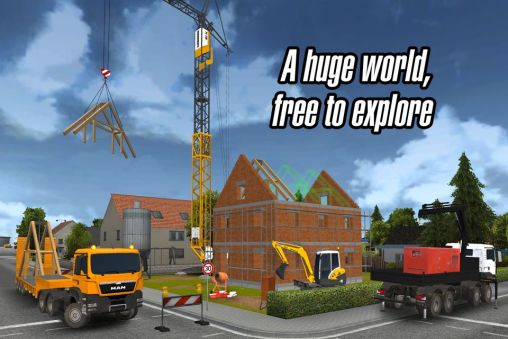 Construction Simulator 2014 Android apk