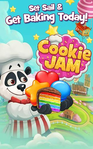 Download Cookie jam Android free game. Get full version of Android apk app Cookie jam for tablet and phone.