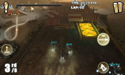 Screenshots of the Cracking Sands for Android tablet, phone.