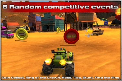 Screenshots of the Crash drive 2 for Android tablet, phone.