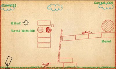 Screenshots of the Crayon Physics Deluxe for Android tablet, phone.