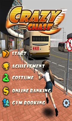 Screenshots of the Crazy Chase for Android tablet, phone.