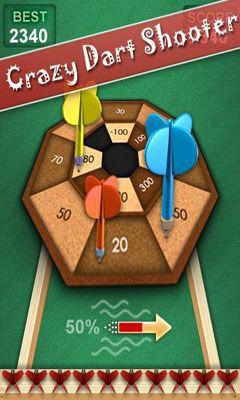 Crazy dart shooter android game screenshots gameplay crazy dart
