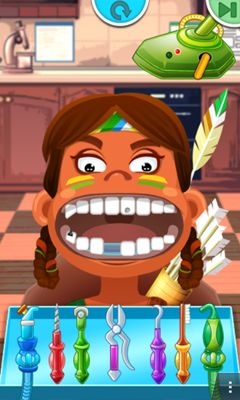 Screenshots of the Crazy Dentist for Android tablet, phone.