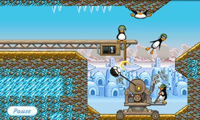 Screenshots of the Crazy Penguin Catapult for Android tablet, phone.