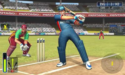Screenshots of the Cricket World Cup Fever HD for Android tablet, phone.