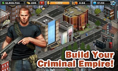 Screenshots of the Crime City for Android tablet, phone.