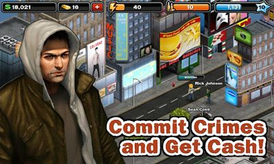 Crime City - Android game screenshots. Gameplay Crime City.