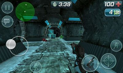 Screenshots of the Critical Missions Space for Android tablet, phone.