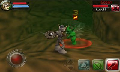 Screenshots of the Crusade Of Destiny for Android tablet, phone.