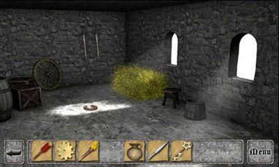 Screenshots of the Cryptic Keep for Android tablet, phone.