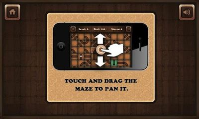 Screenshots of the Crystal-Maze for Android tablet, phone.