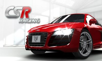 Screenshots of the CSR Racing for Android tablet, phone.