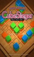 In addition to the game Slice HD for Android phones and tablets, you can also download CubeSieger for free.