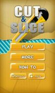In addition to the game Defense zone HD for Android phones and tablets, you can also download Cut & Slice for free.