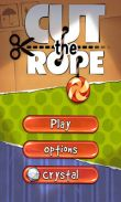 In addition to the game House of Fear for Android phones and tablets, you can also download Cut the Rope for free.