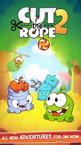 Screenshots of the Cut the rope 2 for Android tablet, phone. বেস্ট অ্যান্ডরেয়ড গেম