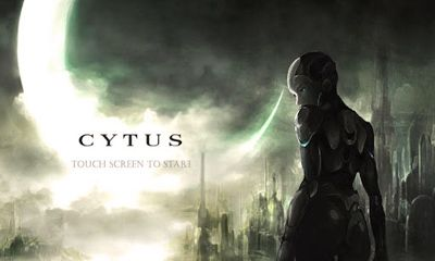 Screenshots of the Cytus for Android tablet, phone.