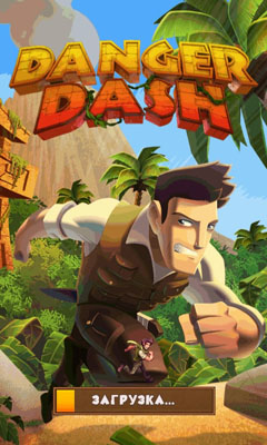 Screenshots of the Danger Dash for Android tablet, phone.