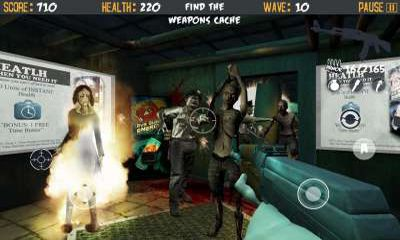 Screenshots of the Dead Corps Zombie Assault for Android tablet, phone.