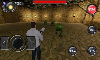 Screenshots of the Deadly Chambers for Android tablet, phone.