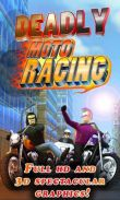 In addition to the game Dawn of Vengeance for Android phones and tablets, you can also download Deadly Moto Racing for free.