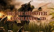 In addition to the game Into the dead for Android phones and tablets, you can also download Death shooter: Commando 3D for free.