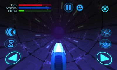 Screenshots of the Death Track for Android tablet, phone.