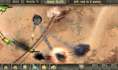 Screenshots of the Defense zone HD for Android tablet, phone.