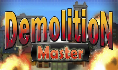 Screenshots of the Demolition Master for Android tablet, phone.