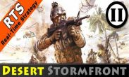 In addition to the game Green Farm 3 for Android phones and tablets, you can also download Desert Stormfront for free.