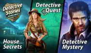 Detective stories: Hidden object 3 in 1 free download. Detective stories: Hidden object 3 in 1 full Android apk version for tablets and phones.